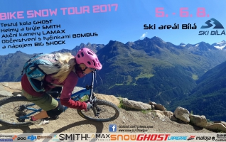 Bike SNOW tour – SKI Bílá 5. – 6. 8.2017